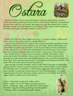 Ostara/Easter traditions - I'm curious whether the thing about early egg hunts is true... research later!