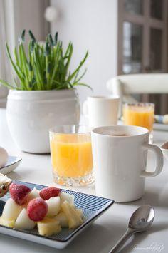 be my guest Sunday Breakfast, Spring Flowers, Panna Cotta, Ethnic Recipes, Food, Photos, Beautiful, Dulce De Leche, Eten
