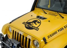 Jeep WRANGLER Sahara Dunes Mountain Hood Decal Stickers 1 Pair SH-109