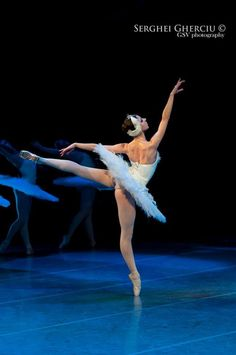 "Alina Nanu, ""Swan Lake"", The Czech National Ballet (October 31, 2012)"