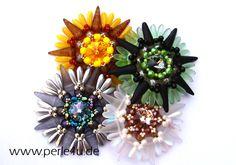 www.PERLE4U.de - Perlen * Anleitungen * Schmuck: noch mehr Spike-Suns