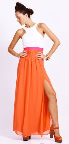 Seduce palm beach maxi dress