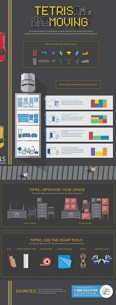 If you ever played Tetris - you can pack a moving truck! Here's how - Optimizing Space in a Moving Truck