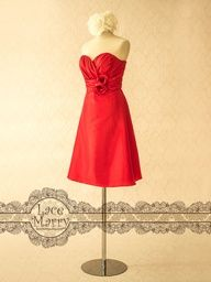 Cute poppy braidsmaid dress