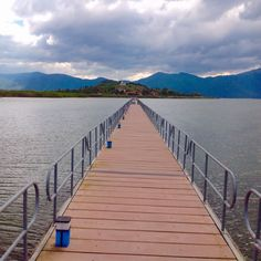 Follow me to our dream island. Let's go! #bridge #island #clouds #sky #lake #water #nature #relax #dream janholmberg.weebly.com