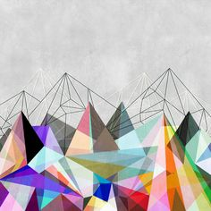 Colorflash 3 Art Print | Mareike Böhmer Graphics