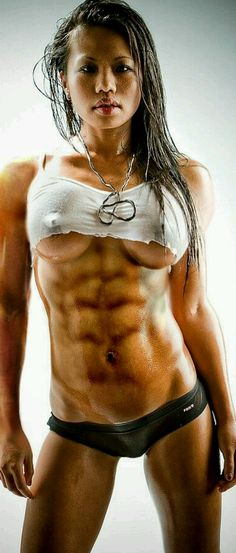 Nude asian women bodybuilders images