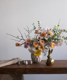 west elm - Easter Arrangement by James's Daughter Flowers