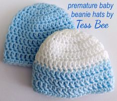 Premature Baby Boy Beanie Hats, 2 x baby hats Suitable for NICU Babies, ideal Incubator Hats, or fo home use  Twin baby hats, grab a bargain! you don't need to have twins... it's just an easier way to buy 2x preemie baby beanie hats for your little one. saving on the price of the hats and the postage  They are available in 3 preemie sizes and a choice of colours.    #babyhat    #babyboyhat  #prematurebabyhat  #prembabyhat  #premboyhat  #prematurebabyboyhat  #handmadeprembabyhat… My Newborn Baby, Preemie Babies, Premature Baby, Baby Boy Beanies, Baby Girl Hats, How To Have Twins, Nicu, Handmade Baby, Baby Knitting