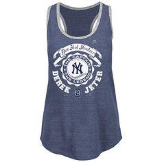 New York Yankees Women's Derek Jeter Sleeveless Deep Scoop Neck - MLB.com Shop