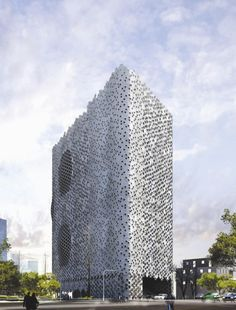 Transformación de fachada según conceptos del diseño paramétrico | Planos de Casas Gratis