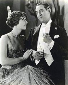 Claire Windsor and Elliott Dexter