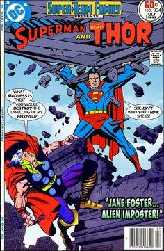 Superman VS Thor