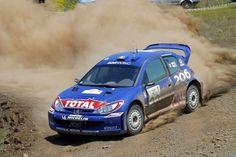 Peugeot 206 WRC rally car