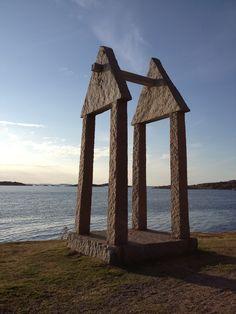 Scuplture, sculpture park, Hunnebostrand, Sweden