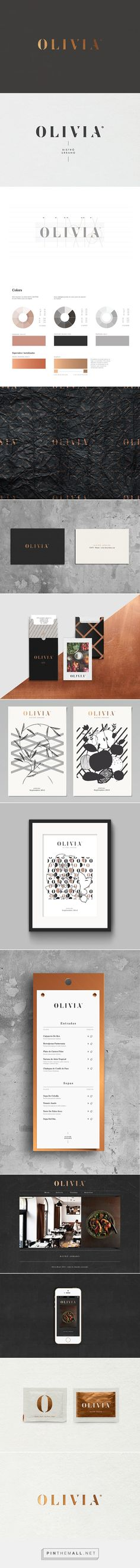 OLIVIA Bistro Urbano on Behance - created via https://pinthemall.net