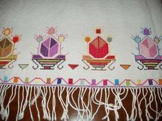 Art Nouveau, Paisley, Palestinian Embroidery, Bargello, Hand Embroidery, Folk Art, Diy And Crafts, Knitting Patterns, Cross Stitch