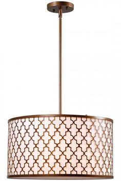 Trieste 3-Light Pendant - Pendant Lights - Pendant Light Fixtures - Kitchen Pendant Lighting - Modern Pendant Lighting | HomeDecorators.com