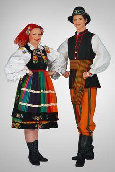 Strój łowicki-costume from Łowicz region