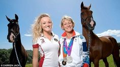 "Olympic Eventing: Mary King Says ""Don't blame Zara"""