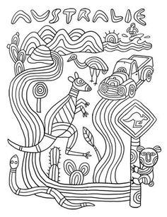 Funny Animal Quotes 327777679115076753 - 4 australie kangourou Plus Source by ckrougier Australia For Kids, Australia Crafts, Australian Animals, Australian Art, Colouring Pages, Coloring Pages For Kids, Kids Colouring, Aboriginal Dot Painting, Australia Kangaroo