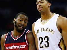 New Orleans Pelicans forward Anthony Davis and Washington Wizards guard John Wall, both ex-Kentucky stars, have been named NBA All-Star starters via fan vote.