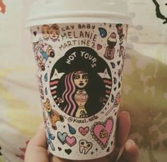 Melanie Martinez//Cry Baby omg i want thiss Melanie Martinez Fan Art, Mel Martinez, Melanie Martinez Drawings, Crybaby Melanie Martinez, Cry Baby, Starbucks Cup Art, Stranger Things, Dibujos Cute, Crazy People