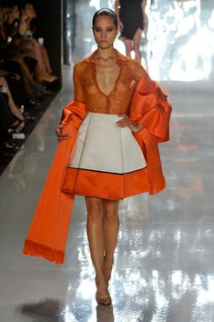 Chado Ralph Rucci Spring 2013 NY | Keep the Glamour | BeStayBeautiful