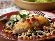 Black Bean Chicken - crockpot