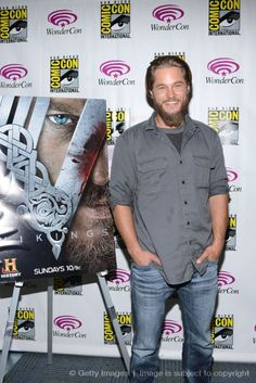 This man could be giving Channing Tatum a run for his money...Travis Fimmel......Vikings