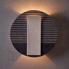 Modern Black and White Wall Mount Light for the living room. Ceramic Wall Lights, Glass Wall Lights, Hanging Lights, Brass Ceiling Light, Lamp Light, Ceiling Lights, Coffee Bars, Wall Mounted Light, Modern Wall Sconces