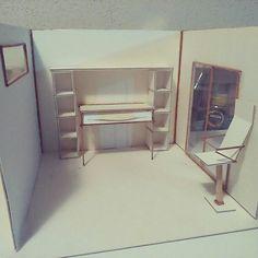 """primera maqueta de la carrera, """"Diseño de Ambientes"""" Carrera, My Works, Storage, Furniture, Home Decor, Purse Storage, Decoration Home, Room Decor, Home Furnishings"""