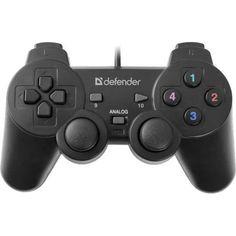 Defender Omega Проводной, Геймпад  — 630 руб. —  Тип контроллера Геймпад , Тип связи Проводной , Виброотдача, Совместимость с ПК , Интерфейс подключения к ПК USB , Гарантия фирмы производител