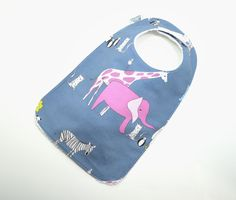 Toddler Bib 10x 17 / 1yr3 yrs / Gender Neutral by TextileTrolley, $12.00