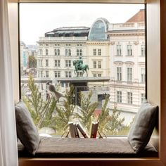 Window with view at The Guesthouse Vienna