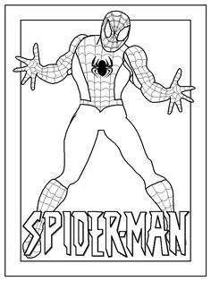 spider man coloring sheets for kids print and color our free spiderman coloring pages