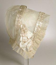 Свадебный капор 1825 г.