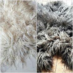 by Annalies van Eerde - Zachtaardig.nl Felt fleece, raw wool