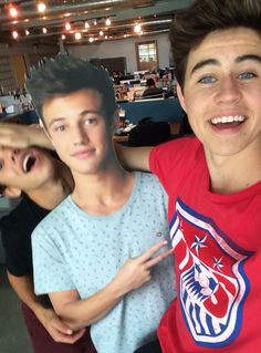 Nash grier, cameron dallas, and magcon Cam Dallas, Cameron Dallas, Magcon Family, Magcon Boys, Mathew Espinosa, Baby Boys, Cameron Alexander Dallas, Bae, Vine Boys
