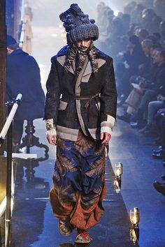 John Galliano Fall 2011 Menswear