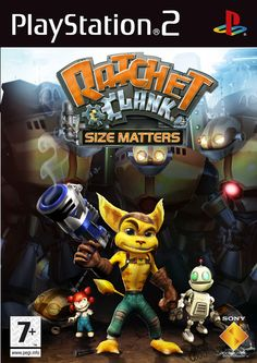 126 best Games   PS2 images on Pinterest   Videogames  Games ps2 and     Ratchet and Clank Size Matters PS2