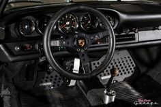 Porsche 911 | Magnus Walker, Floor, Foot Plates, Shifter Base Idea