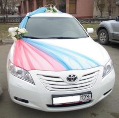 Weddings car decoration idea