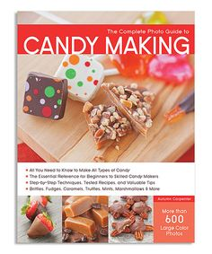 Look at this #zulilyfind! The Complete Photo Guide to Candy Making Cookbook by Quarto Publishing Group USA #zulilyfinds
