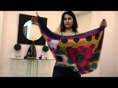 Blog Métisse - Como fazer um colete com lenço - YouTube