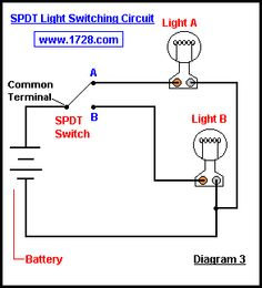 double light switch to two lights please help nz 240v 12 volt Double Light Switch Wiring Common single pole double throw way switch\