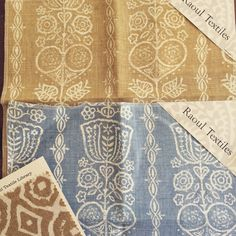 spring summer 2015 fabric from Raoul Textiles