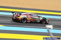 Ferrari 458 Italia GTC Gianmaria Bruni (I)/Toni Vilander (SF)/Giancarlo Fisichella (I) 24h Le Mans, Ferrari 458, Racing, Album, Vehicles, Car, Motors, Italia, Running