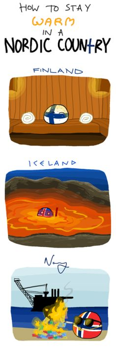 Nice How to Stay Warm in a Nordic Country via reddit