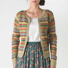 Love this Crochet Cardigan and shirt!! | CathKidston